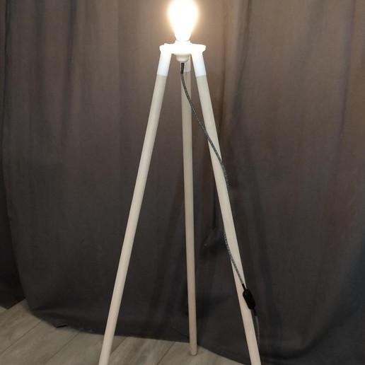 Télécharger modèle 3D Lampe scandinave, Our3D_Workshop