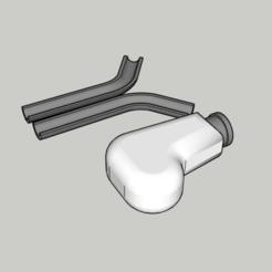 Descargar modelos 3D gratis Palanca de cambios Citroen Xsara Picasso, MiguelJ