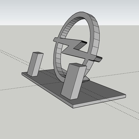 Download free 3D printer designs OPEL phone support, MiguelJ