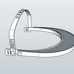 Imprimir en 3D gratis Protector COVID19 Mod. JSK1, MiguelJ