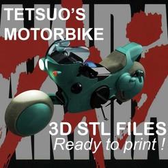 PUB Tetsuo2.jpg Télécharger fichier STL La moto de Tetsuo d'Akira • Objet pour impression 3D, buissonland