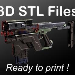 Kang_Tao_2019-Nov-04 A PUB.jpg Download STL file Cyberpunk 2077 - Kang Tao G-58 • 3D printing model, buissonland