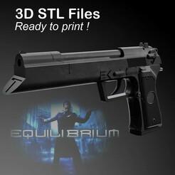 PUB.jpg Download STL file Equilibrium Grammaton Cleric's Handgun • 3D printing design, buissonland