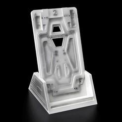Pub1.jpg Download STL file Alien : Nostromo Door - Phone Holder • 3D print design, buissonland