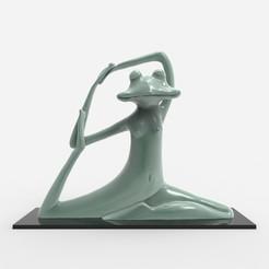 untitled.72.jpg Download OBJ file Meditating frog  • Model to 3D print, h3ydari96