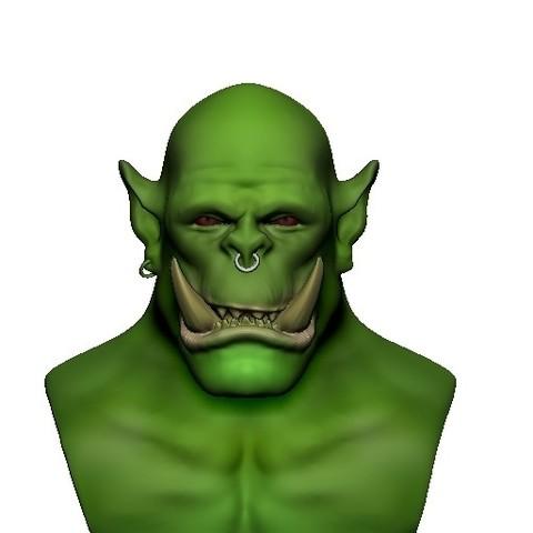 Télécharger plan imprimante 3D gatuit Orc, h3ydari96