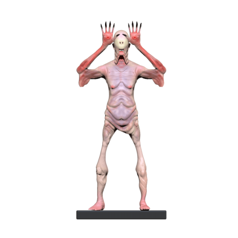 Pale (18).png Download OBJ file Pale man • Template to 3D print, h3ydari96