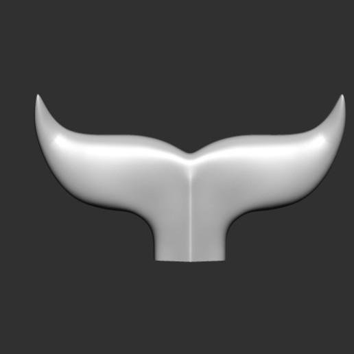Whale Tail_1_Z_1.jpg Download free OBJ file Whale Tail 1 • Model to 3D print, h3ydari96