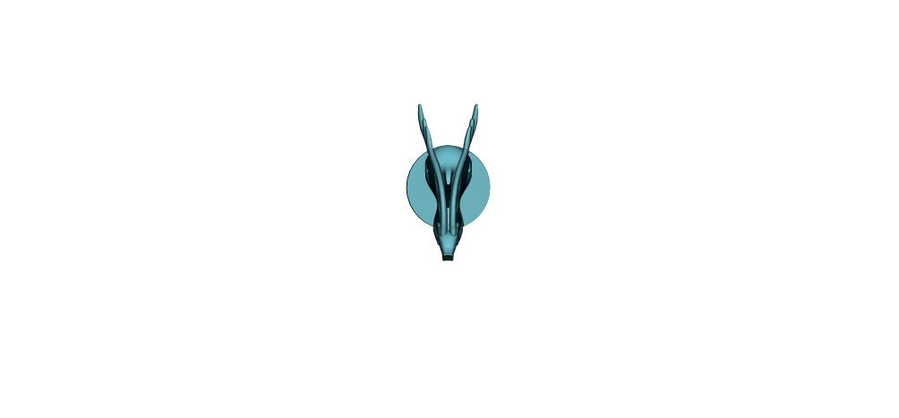 DEER_3.jpg Télécharger fichier OBJ Chevreuil (Gazelle) • Objet pour impression 3D, h3ydari96