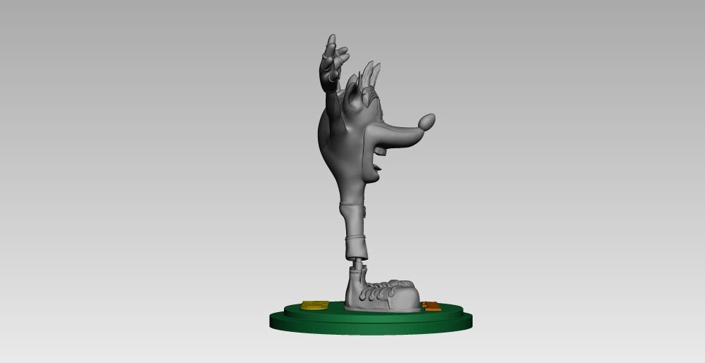 12.jpg Télécharger fichier STL crash bandicoot • Design pour impression 3D, h3ydari96