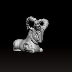 ancient_goat_preview2.jpg Télécharger fichier OBJ Ancienne chèvre • Design pour impression 3D, h3ydari96