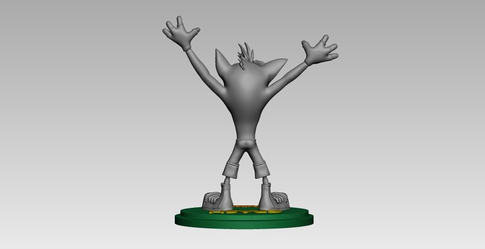 13.jpg Télécharger fichier STL crash bandicoot • Design pour impression 3D, h3ydari96