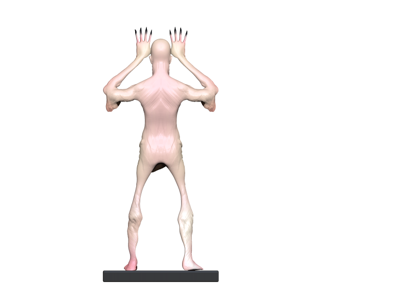 Pale (20).png Download OBJ file Pale man • Template to 3D print, h3ydari96