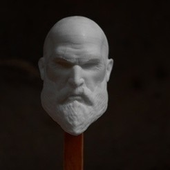 gow1.jpg Download OBJ file kratos keychain • 3D printer object, h3ydari96