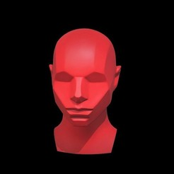m1.jpg Download OBJ file Memorized Head - John Asaro • Model to 3D print, h3ydari96
