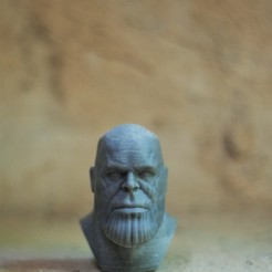 Download free STL file Thanos • 3D printer model, h3ydari96