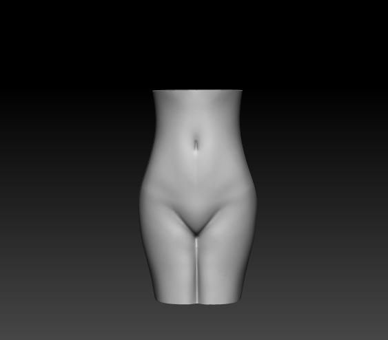 female vase1.jpg Download free OBJ file Female vase • Design to 3D print, h3ydari96