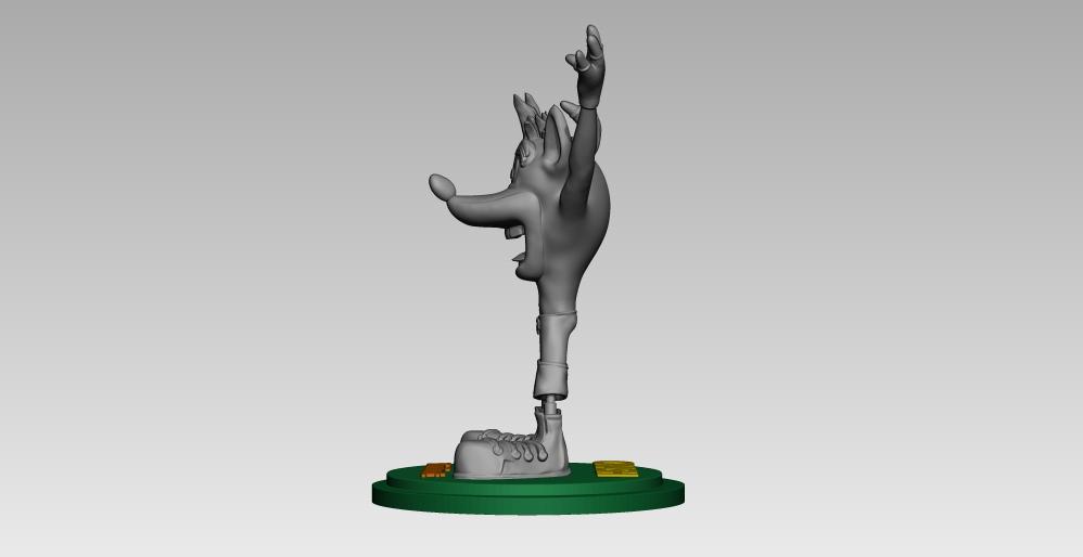 14.jpg Télécharger fichier STL crash bandicoot • Design pour impression 3D, h3ydari96