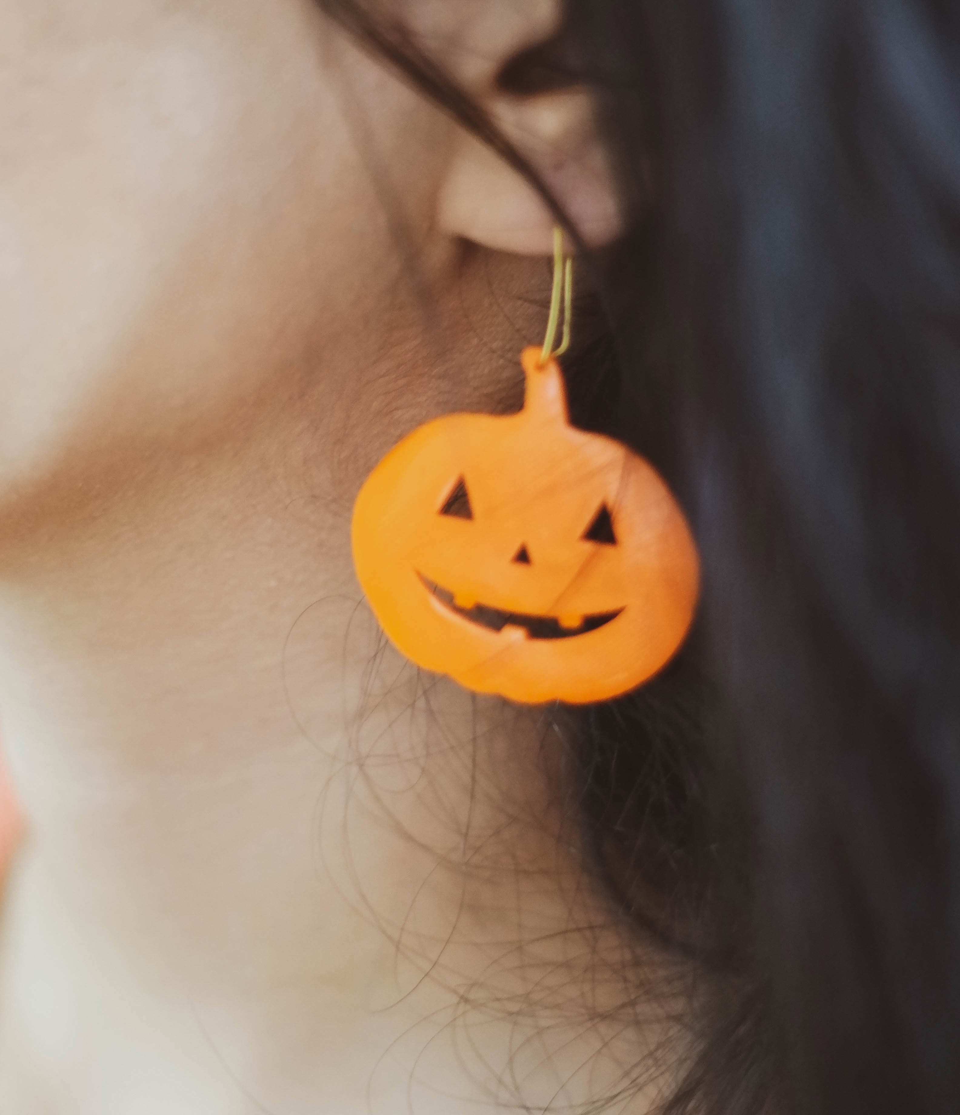 preview.jpg Download GCODE file Pumpkin earrings • 3D printer template, h3ydari96
