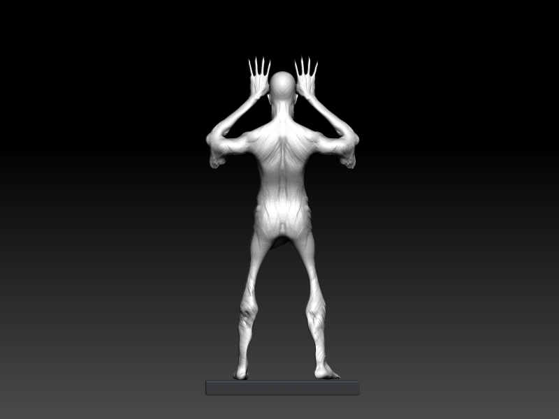 Pale (13).png Download OBJ file Pale man • Template to 3D print, h3ydari96