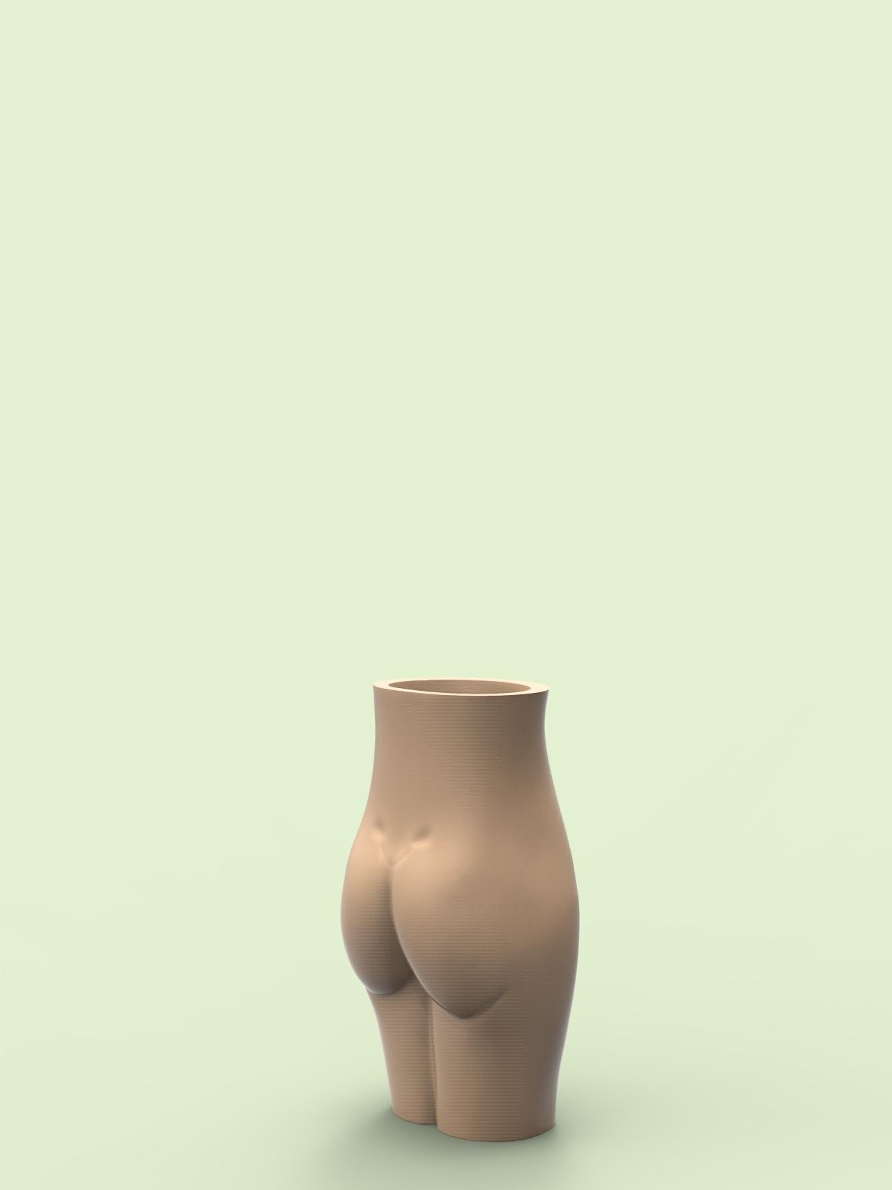 untitled.64.jpg Download free OBJ file Female vase • Design to 3D print, h3ydari96