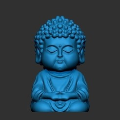 Download 3D model little buddha, h3ydari96