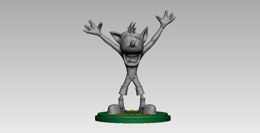 9.jpg Télécharger fichier STL crash bandicoot • Design pour impression 3D, h3ydari96
