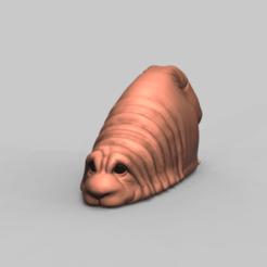 Homo Refugus_preview.png Télécharger fichier STL Chien Homo Refugus • Plan à imprimer en 3D, h3ydari96