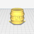 Download free 3D printer files Donkey Kong and Barrel, FrazerPhrase
