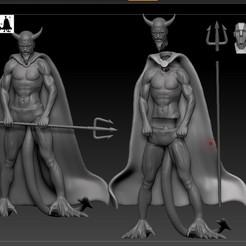 diablo independiente despiece.jpg Download STL file devil's independent athletic club • 3D printer object, jctesoro
