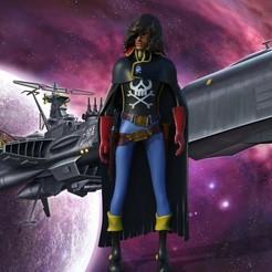 untitled.119.jpg Télécharger fichier OBJ Capitaine Harlock - Raimar • Plan à imprimer en 3D, jctesoro