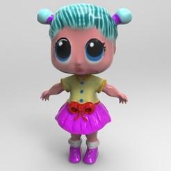 Download 3D printer model lol doll, jctesoro