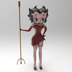 Imprimir en 3D Betty Boop, jctesoro
