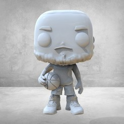 untitled.15.jpg Download STL file funko lebron • 3D printer model, jctesoro