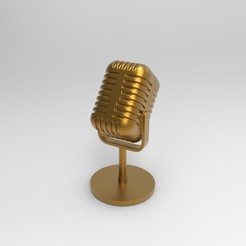 Download 3D printing files microphone, jctesoro