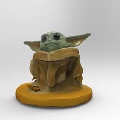 Télécharger modèle 3D yoda baby, jctesoro