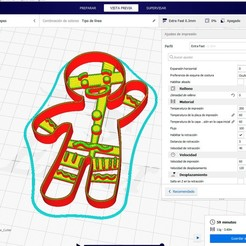 Descargar modelos 3D galleta jengibre, jctesoro