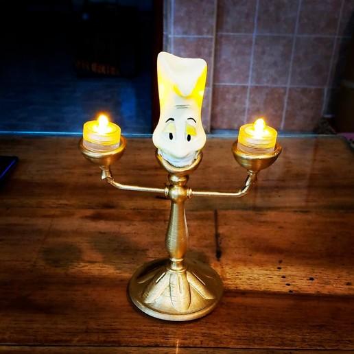 Descargar archivos 3D lumiere 2 lampara, jctesoro