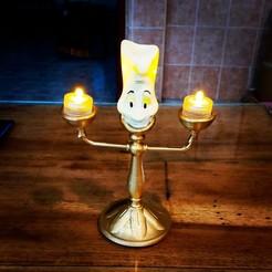 Télécharger plan imprimante 3D lumiere 2 lampe, jctesoro