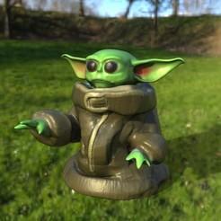 Télécharger modèle 3D BEBE YODA, jctesoro
