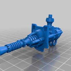 Télécharger modèle 3D gratuit canon zeus pour armiger, mildcat