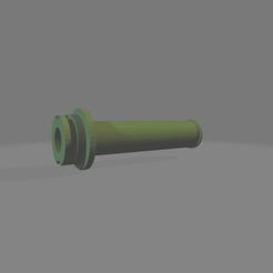 porta rollo.png Download STL file Ender 3 filament reel holder • 3D printable model, LoQuieroen3D