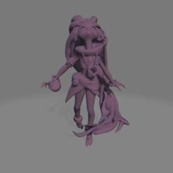 zoe refine.png Download STL file Zoe the twilight look - Ligue of legends • 3D printable object, LoQuieroen3D