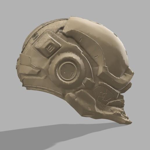 Halo Locus helmet Halo weapon Halo cosplay