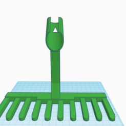 Golf bunker rake.png Télécharger fichier STL Râteau de bunker de golf • Design à imprimer en 3D, 3DAberdeen