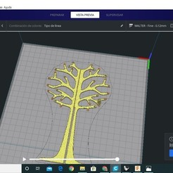 Download free 3D printer model tree earring holder, totto165