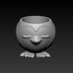 Download 3D printer designs penguin pot, sistem8305