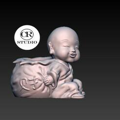 dfdd.jpg Télécharger fichier OBJ l'abondance du bébé bouddha • Plan imprimable en 3D, CRSTUDIO8305