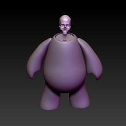 f2.jpg Download STL file art toy skull • Template to 3D print, CRSTUDIO8305