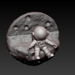f5.jpg Télécharger fichier OBJ astronaute mural • Design à imprimer en 3D, CRSTUDIO8305